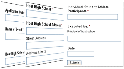 Online Athletic Forms